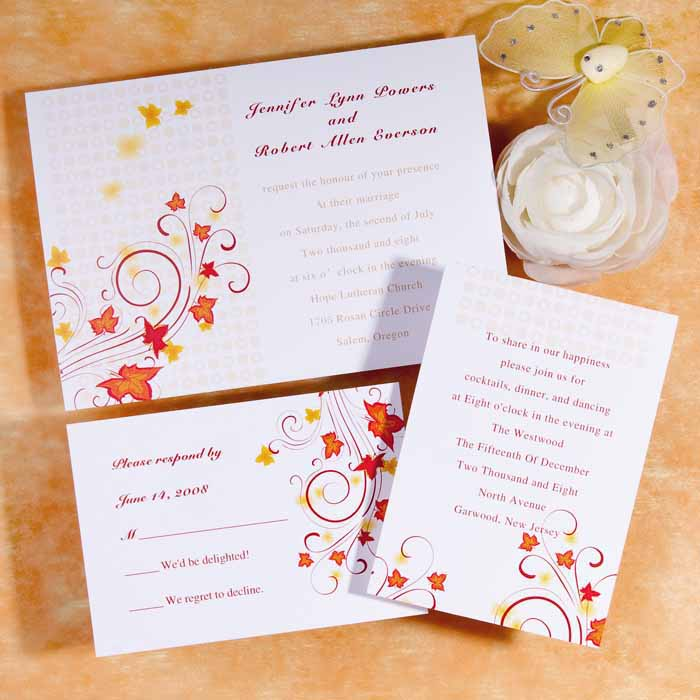 Inexpensive Wedding Invitation Ideas: Cheap Wedding Invitations