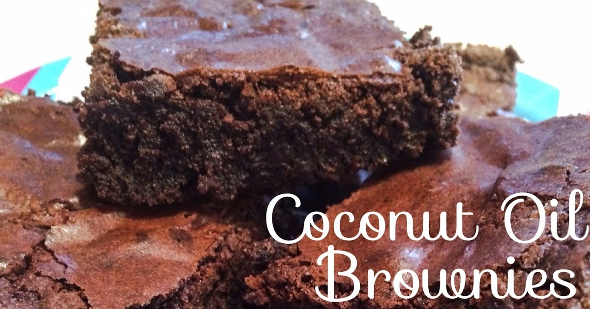 how to make cannabis coconut oil brownies