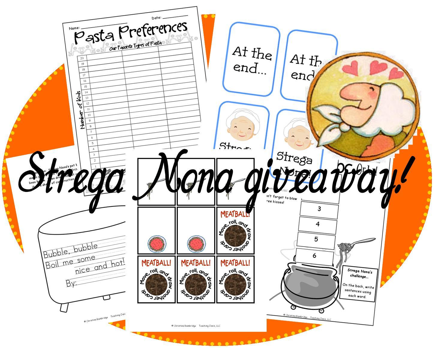 Welcome To The Uni Corner Strega Nona Giveaway