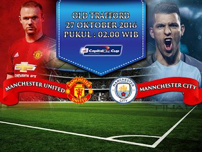 Situs Maxbet Online Terbesar - Prediksi Piala Liga Inggris Manchester United vs Manchester City 27 Oktober 2016