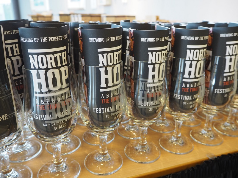North Hop Aberdeen Final Fling Glass