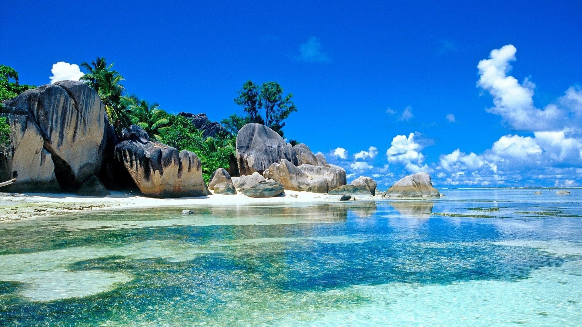 Paradise Island Full Hd Desktop Wallpapers 1080p
