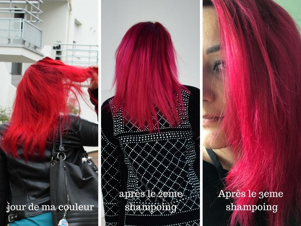 ma couleur au fil des shampoings