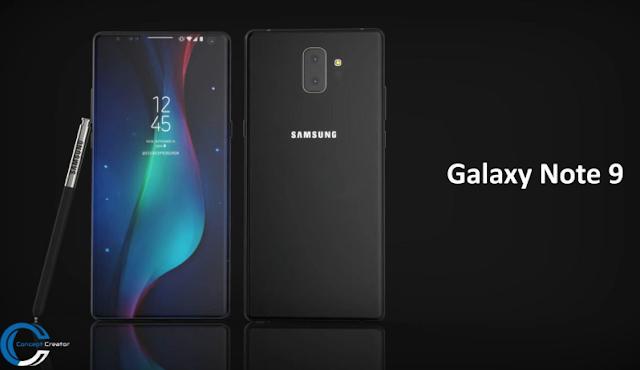Samsung Galaxy Note 9 Spesifikasi, Harga dan Tanggal Rilis