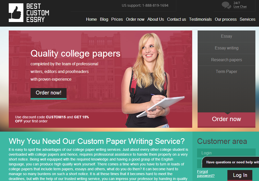 essay writing services reviews  bestcustomessay org