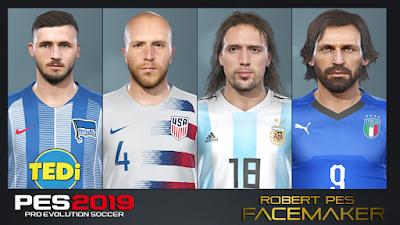 PES 2019 Facepack v3 by RobertPes Facemaker