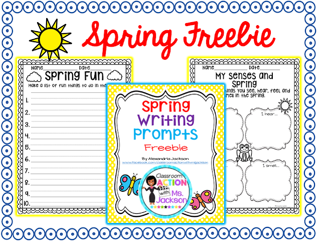 https://www.teacherspayteachers.com/Product/Spring-Writing-1766970