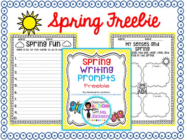 https://www.teacherspayteachers.com/Product/Spring-Writing-1766970