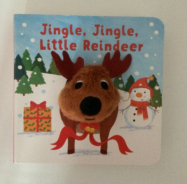 jingle jingle little reindeer book