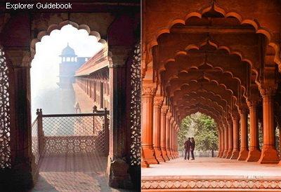 Tempat wisata populer dan terkenal di India Red Fort