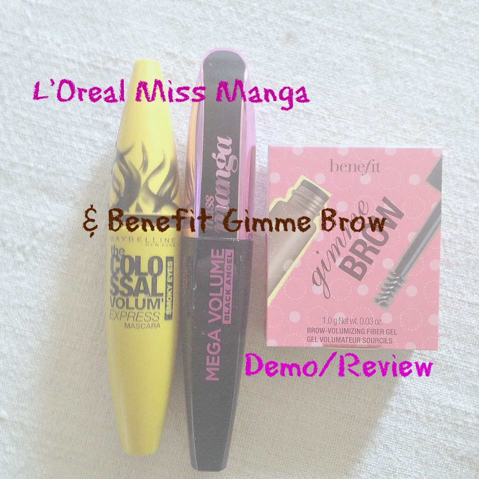 aa991787730 I did a similar post on another L'Oreal mascara back in summer, and I've  realized that that is actually the best way of comparing mascaras.