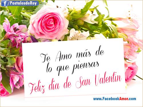 Frases De Amor Para San Valentin Con Imagenes Bonitas De: Postales Con Flores Para San Valentin