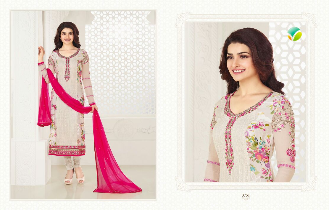 Prachi Vol 18 – Traditional Georgette With Heavy Embroidery salwar Suit