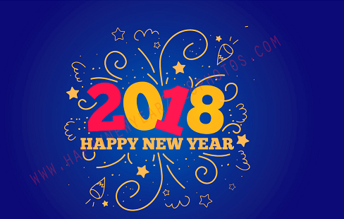 New Year 2018 PNG