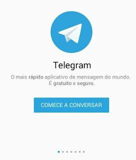 Como fazer e usar o telegram