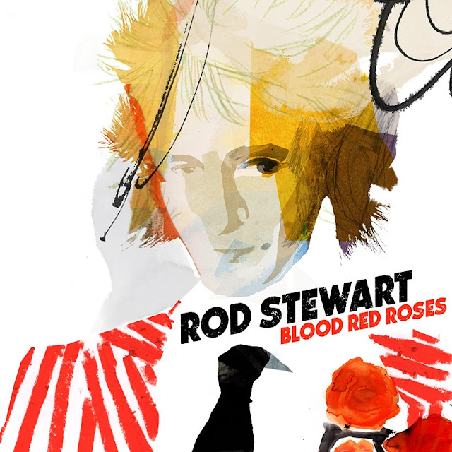 "Rod Stewart Scores No. 1 Album In The UK With ""Blood Red Roses"""