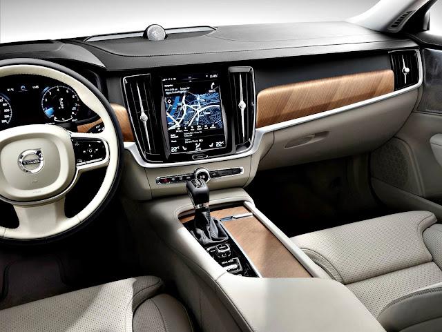 Volvo S90 T5 Momentum 2017 interior