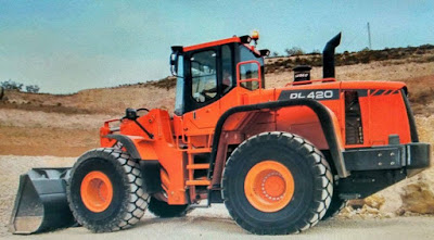 Doosan Wheel Loader DL 420 Shop Manual