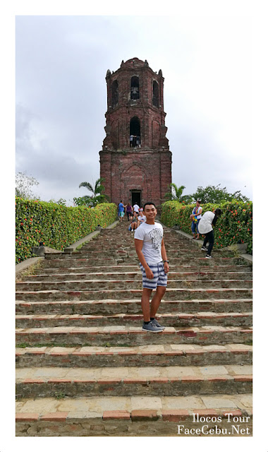 FaceCebu Blogger in Bantay Bell Tower