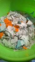 diy fabriquer son papier recyclé feuilles activité écolo zero dechet