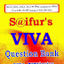 S@ifur's VIVA Question Bank and Answer