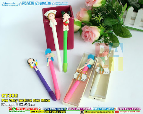 Pen Clay Include Box Mika