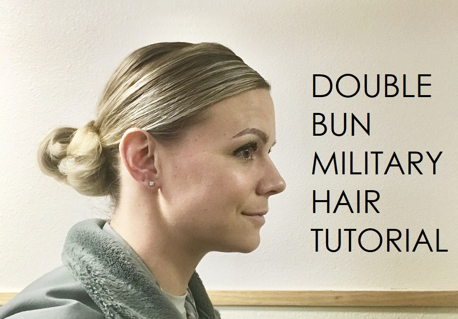 Military Hair Tutorial, Double Bun Tutorial, Slicked Back Bun Tutorial, Easy Hairstyles, Military Bun