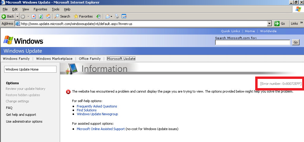 Clint Boessen's Blog: How to Patch Windows Server 2003 with