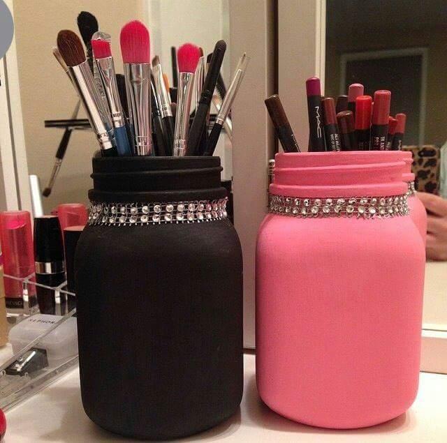 Ideas de organizadores de brochas para maquillaje maquillaje belleza y moda para la mujer - Organizador profesional ...