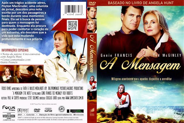 Capa DVD A Mensagem 2007 [Exclusiva]