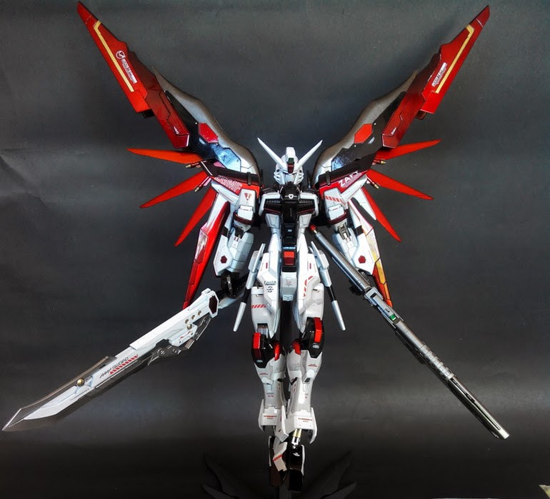 MG 1/100 Destiny Gundam Titanium Build - Customize | Giga Circle