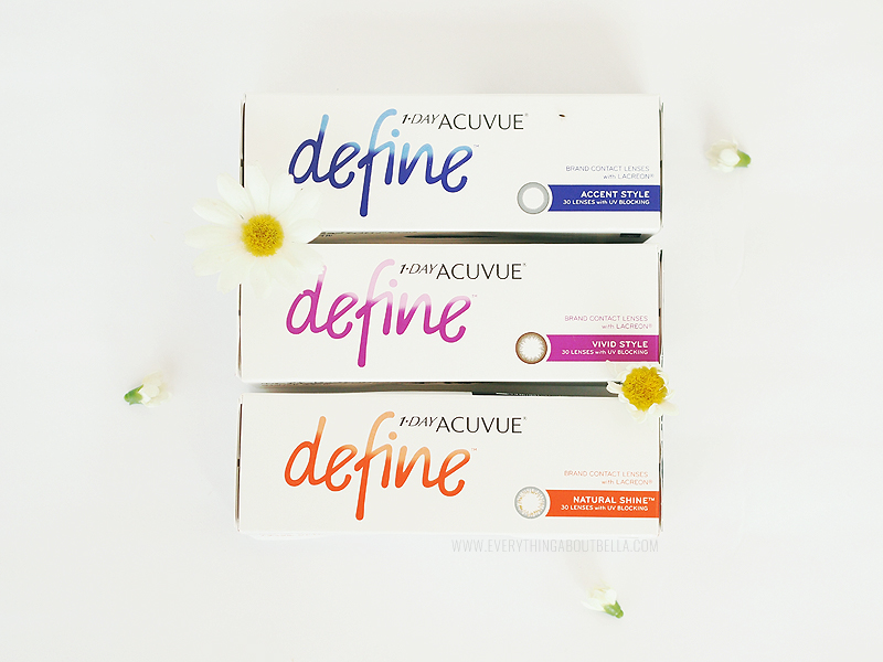 Acuvue Define Contact Lenses - Beauty Blogger Indonesia