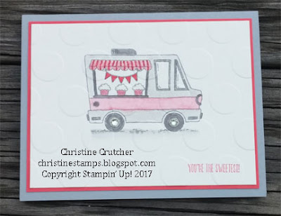 Stampin Up - Tasty Trucks
