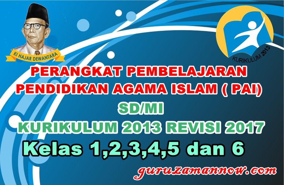 Lengkap Rpp Prota Promes Kkm Silabus Pendidikan Agama Islam Pai Sd Mi Kelas 1 2 3 4 5 Dan