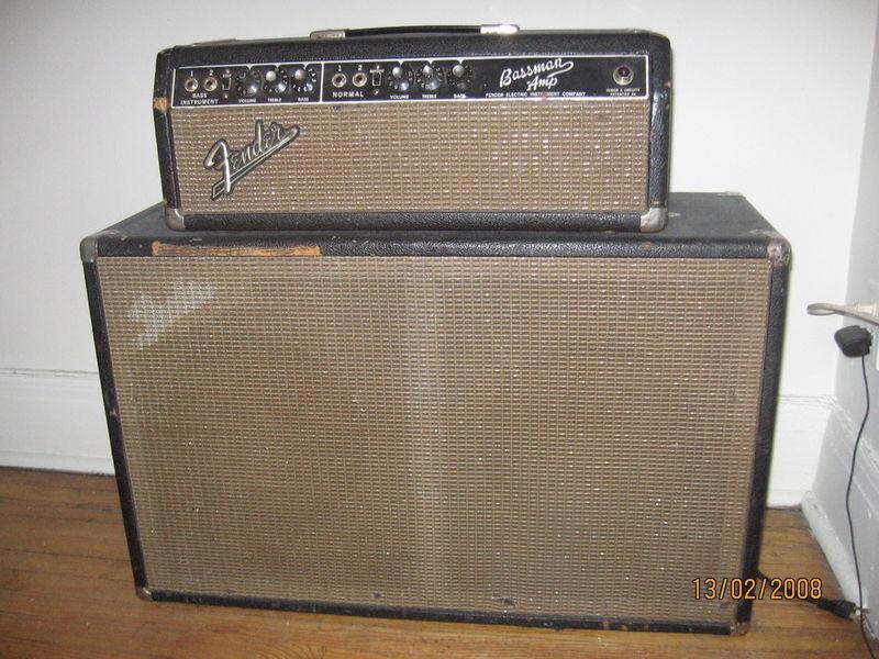 canadian vintage guitar hunt 1965 fender bassman amp. Black Bedroom Furniture Sets. Home Design Ideas