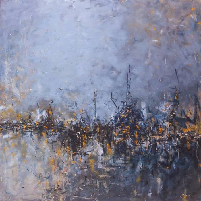 Хорватский художник. Marko Zubak