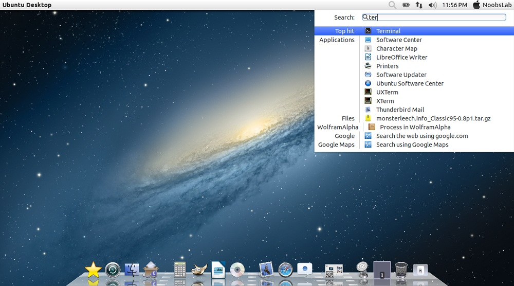 Mac OS X Lion Theme for Ubuntu 12 04 (2nd Version Completed