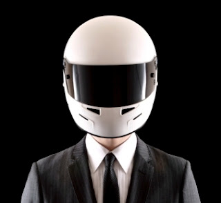 motorcycle helmet business suit