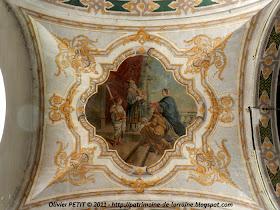 VAUCOULEURS (55) - L'église paroissiale Saint-Laurent