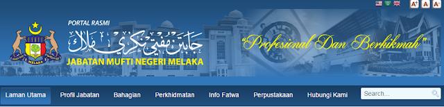 Rasmi - Jawatan Kosong (MNM) Jabatan Mufti Negeri Melaka Terkini 2019