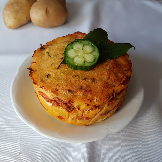 Pastel de patata y ternera II