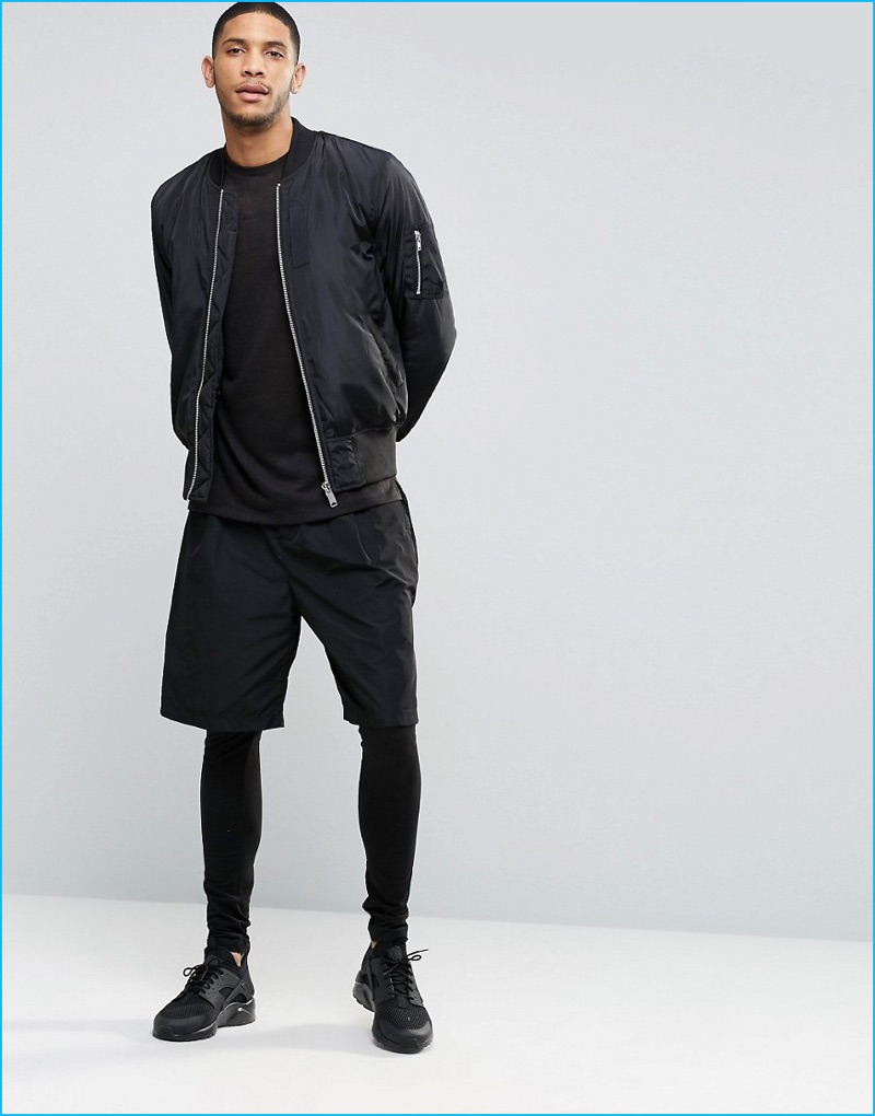 Men's Short Tights. $ Prev. Pair your favorite men's leggings with Nike compression shirts for sweat-wicking performance during your toughest workouts. Stay warm between activities with Tech Fleece hoodies and jackets engineered to keep you comfortable during any activity.