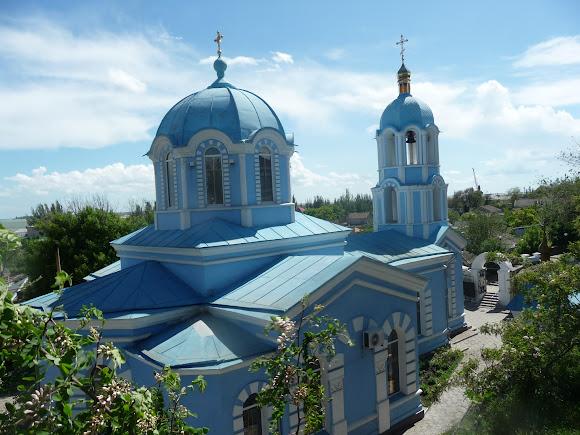 Геническ. Церковь Рождества Пресвятой Богородицы