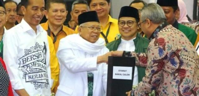 Ditekan Said Aqil dan Cak Imin Saja Jokowi Meleleh, Bagaimana Ditekan Asing?