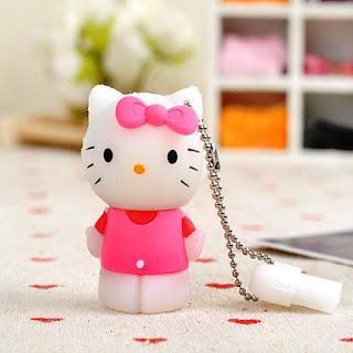 Contoh Flashdisk Hello Kitty Pink Yang Lucu Banget