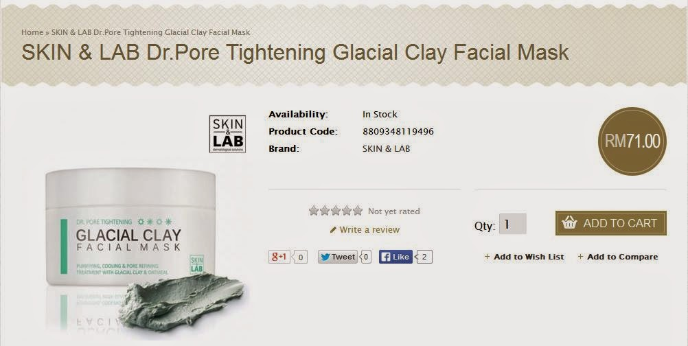 http://www.nattacosme.com/SKIN-LAB-Dr-Pore-Tightening-Glacial-Clay-Facial-Mask