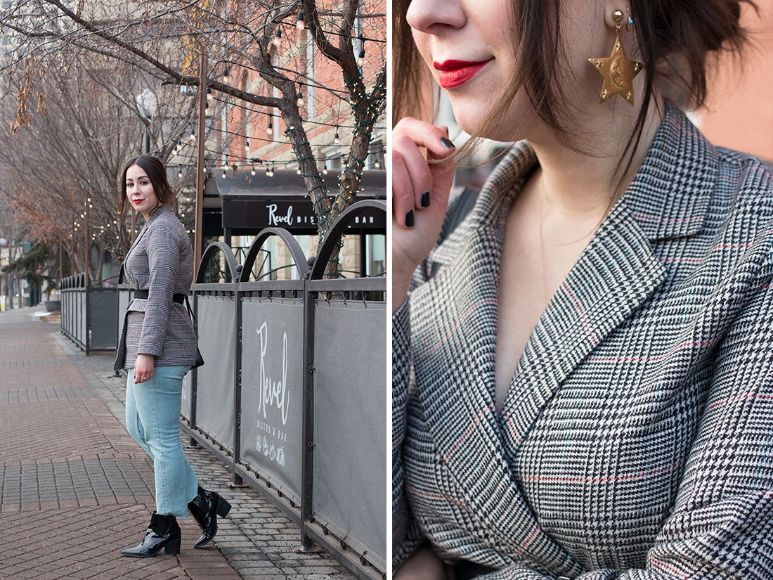 Try This: Wear Your Favourite Blazer as a Top