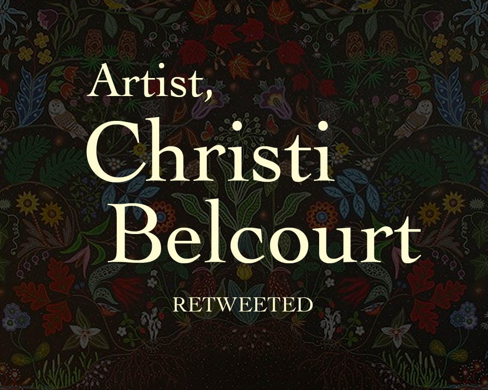 Display card: Christi Belcourt, Artist