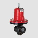 self operated pressure regulator valve