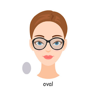 oval face shape glasses